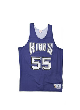 "Mitchell & Ness Sacramento Kings Williams Reversible Mesh Tanktop ""Purple/White"""