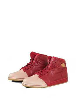 "Air Jordan W 1 Retro High PRM ""Gym Red/Vachetta"""