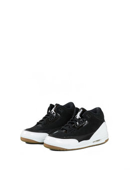 "Air Jordan 3 Retro (GS) ""Black/White"""