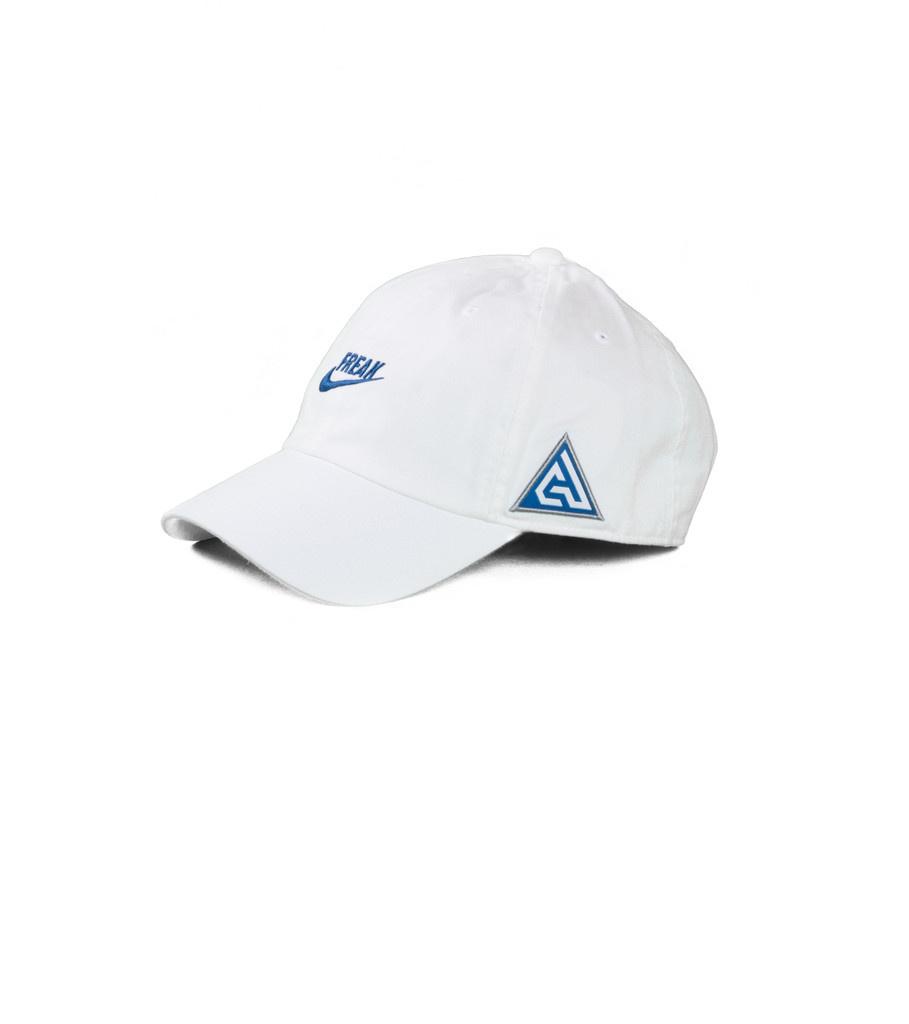 """Nike G. Antetokounmpo Heritage86 Cap """"White/Game Royal"""""""