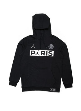 "Air Jordan PSG Jumpman Fleece Hoodie ""Black/White"""