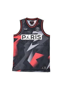 "Air Jordan PSG Mesh Jersey ""Black/Infrared 23"""