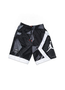 "Air Jordan PSG Blocked Diamond Short ""Black"""