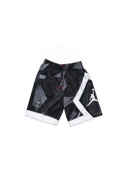 "PSG Blocked Diamond Short ""Black"""