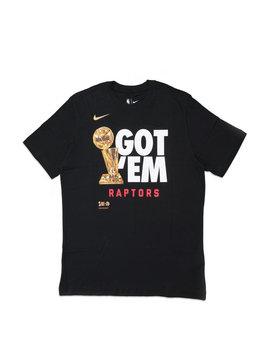 """Nike Toronto Raptors """"Got 'Em"""" Dri-Fit Tee """"Black"""""""
