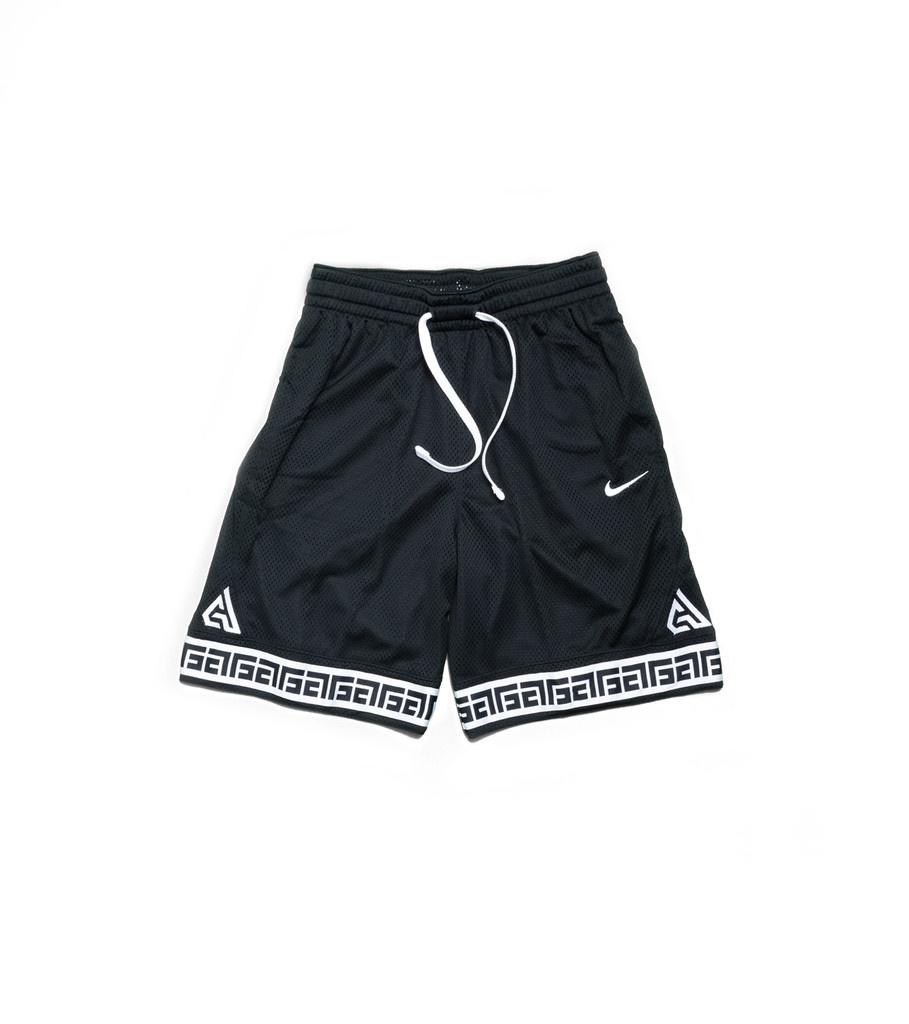 """Nike Giannis Logo Short """"Black/White"""""""