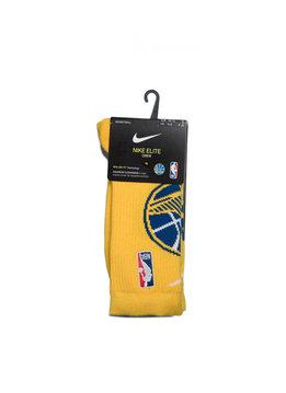 "Nike GS Warriors Logo Elite Socks ""Amarillo"""