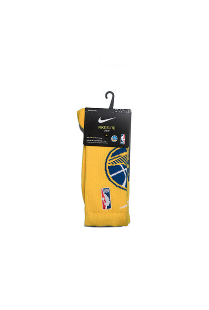 "GS Warriors Logo Elite Socks ""Amarillo"""