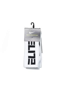"Nike Elite Everyday Socks ""White/Black"""