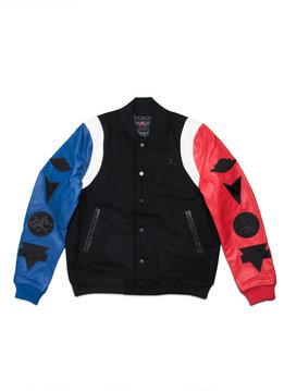 "Air Jordan DNA Varsity Jacket ""Black/Rush Blue"""