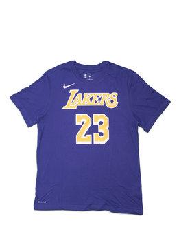 """Nike L. James Statement Edition '18 Dri-Fit Tee """"Court Purple"""""""