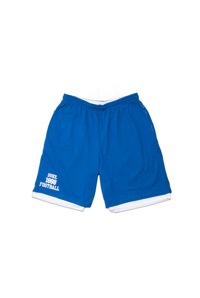 "Duke Blue Devils 1888 Football Cotton/Mesh Short ""Royal"""