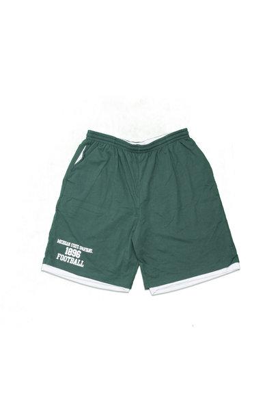 "Michigan State Spartans 1896 Football Cotton/Mesh Short ""Green"""