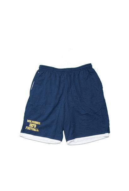 "Michigan Wolverines 1879 Football Cotton/Mesh Short ""Navy"""