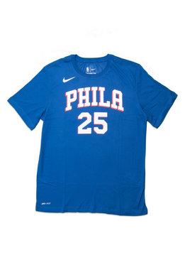 """Nike B. Simmons Icon Edition '18 Dri-Fit Tee """"Rush Blue"""""""