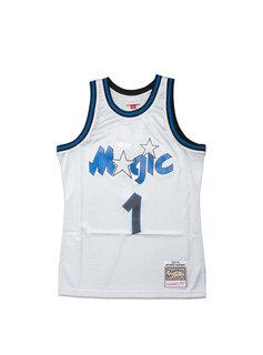 """Mitchell & Ness Orlando Magic '93-'94 P. Hardaway Swingman Jersey """"Platinum"""""""
