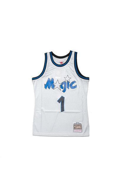 "Orlando Magic '93-'94 P. Hardaway Swingman Jersey ""Platinum"""