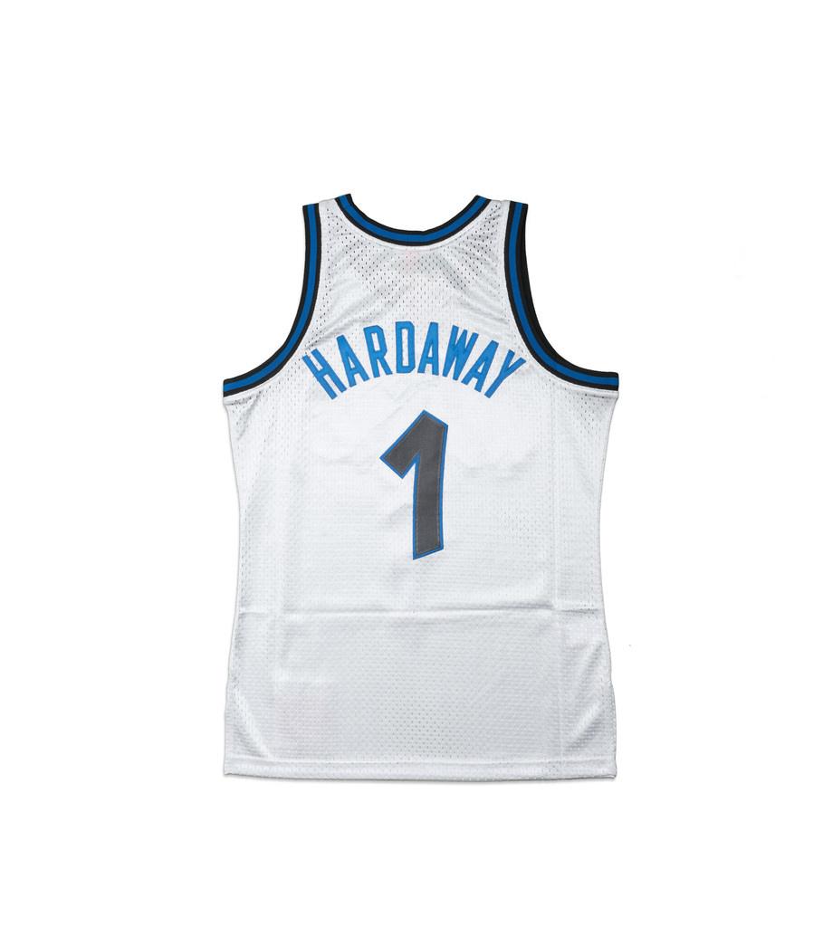 "Orlando Magic '93-'94 P. Hardaway Swingman Jersey ""Platinum""-4"