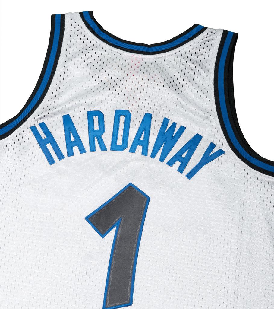 "Orlando Magic '93-'94 P. Hardaway Swingman Jersey ""Platinum""-5"