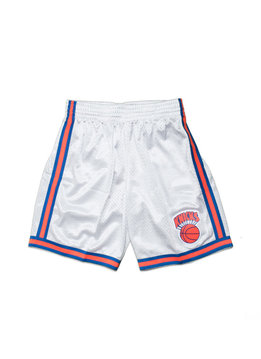 "Mitchell & Ness NY Knicks '91-'92 Swingman Short ""Platinum"""