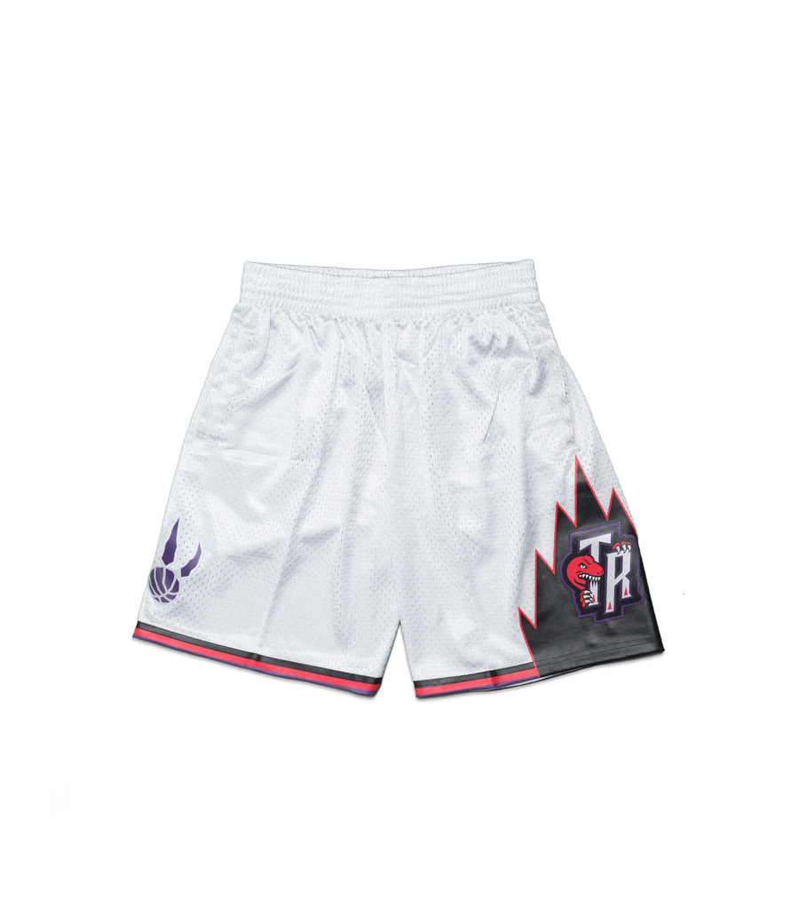 "Toronto Raptors '98-'99 Swingman Short ""Platinum""-1"