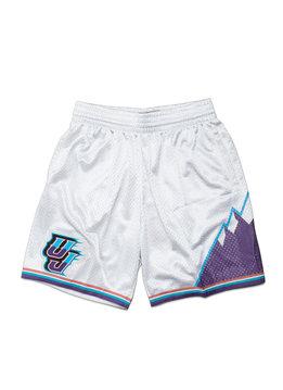 """Mitchell & Ness Utah Jazz '96-'97 Swingman Short """"Platinum"""""""