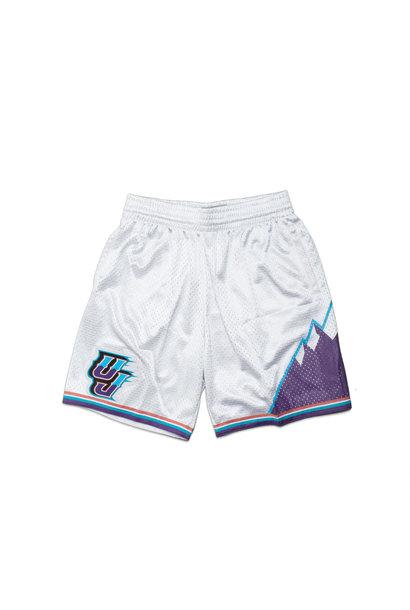"Utah Jazz '96-'97 Swingman Short ""Platinum"""