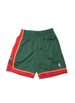 "Mitchell & Ness Seattle Supersonics '95-'96 Swingman Short ""Green/Red"""