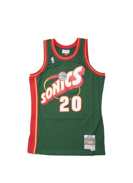 "Mitchell & Ness Seattle Supersonics '95-'96 G. Payton Swingman Jersey ""Green"""
