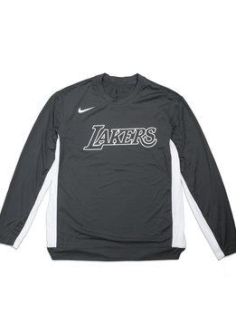 "Nike LA Lakers Dri-Fit LS Tee ""Anthracite/White"""