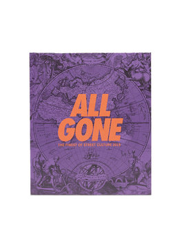 """All Gone Book 2018 """"Purple Map"""""""