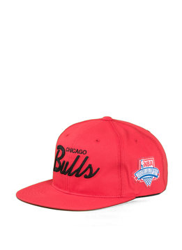 "Mitchell & Ness Chicago Bulls Draft Series Snapback ""Red"""