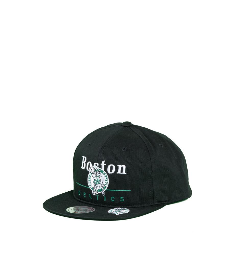 "Boston Celtics Double Double Snapback ""Black""-1"