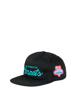 "Mitchell & Ness Charlotte Hornets Draft Series Snapback ""Black"""