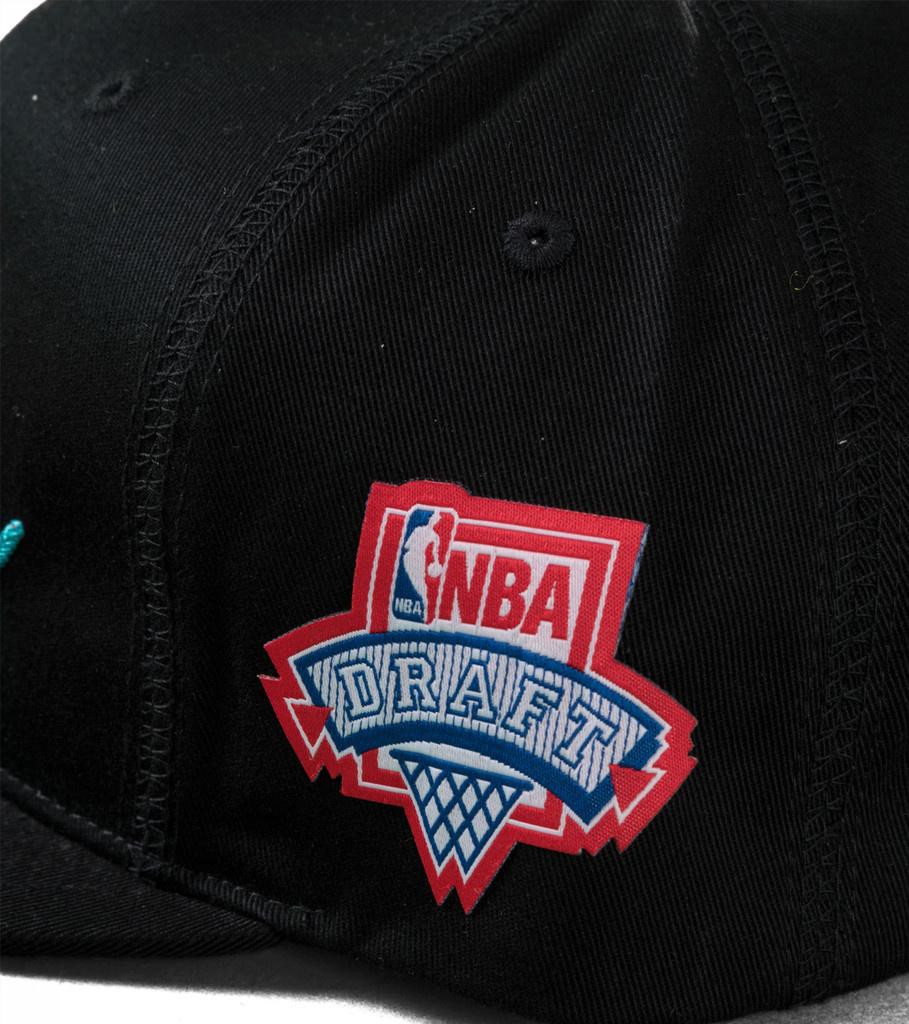 "Charlotte Hornets Draft Series Snapback ""Black""-4"