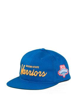 "Mitchell & Ness GS Warriors Draft Series Snapback ""Blue"""