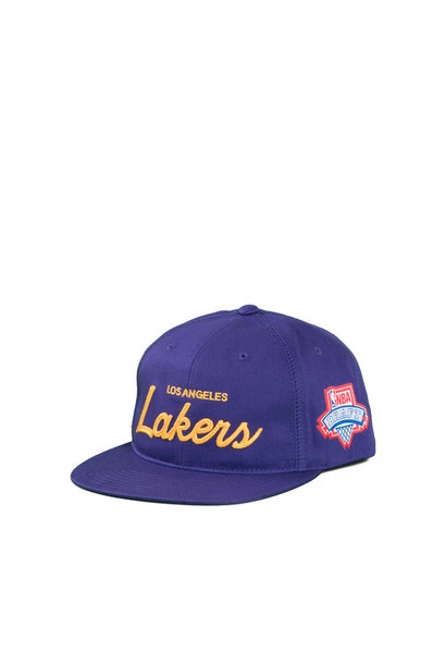 "LA Lakers Draft Series Snapback ""Purple"""