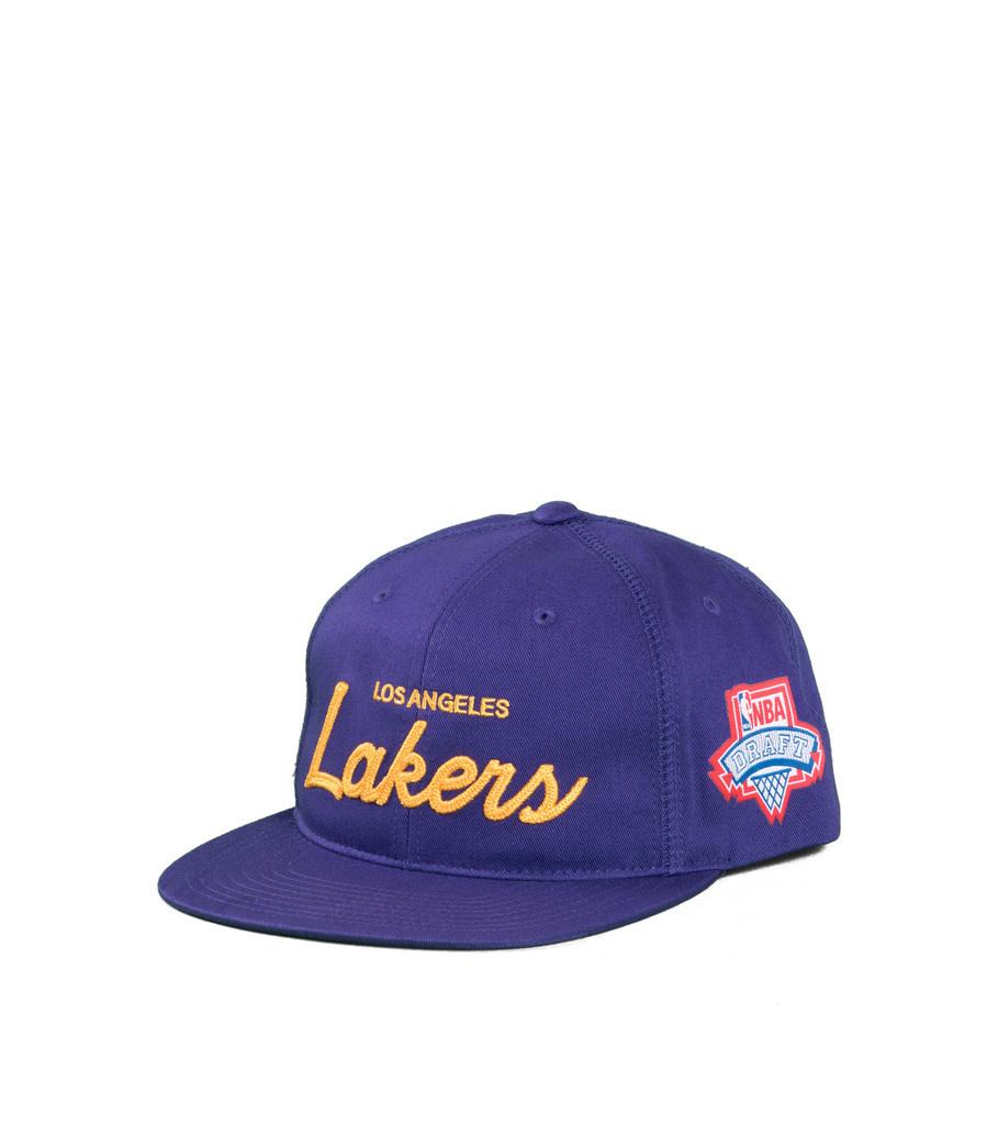 """LA Lakers Draft Series Snapback """"Purple""""-1"""