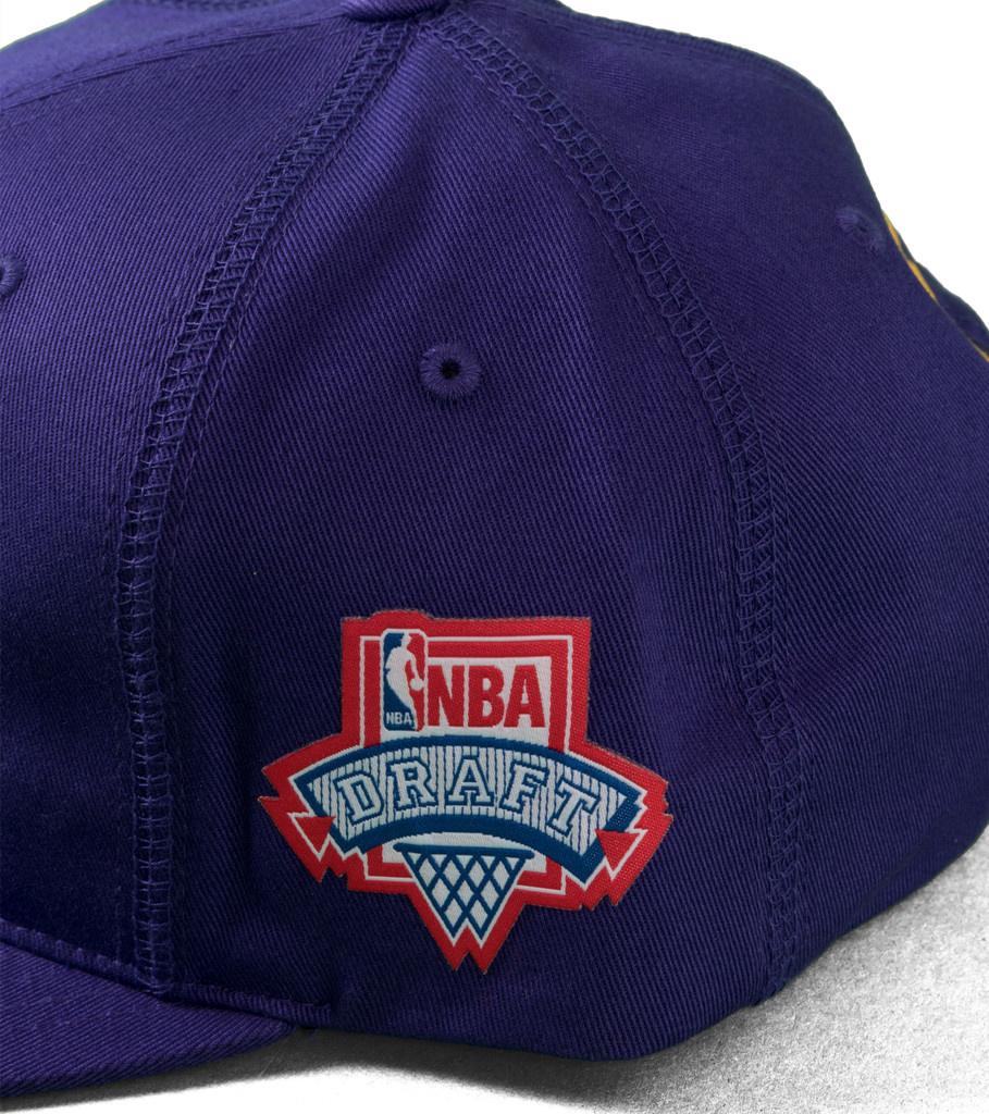 """LA Lakers Draft Series Snapback """"Purple""""-4"""