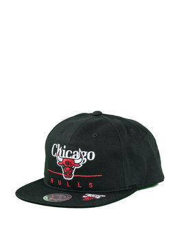 "Mitchell & Ness Chicago Bulls Double Double Snapback ""Black"""