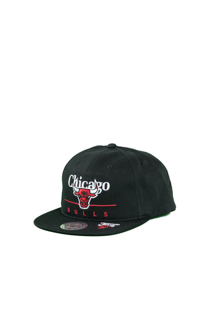 "Chicago Bulls Double Double Snapback ""Black"""