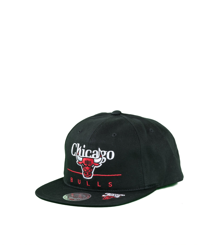 "Chicago Bulls Double Double Snapback ""Black""-1"
