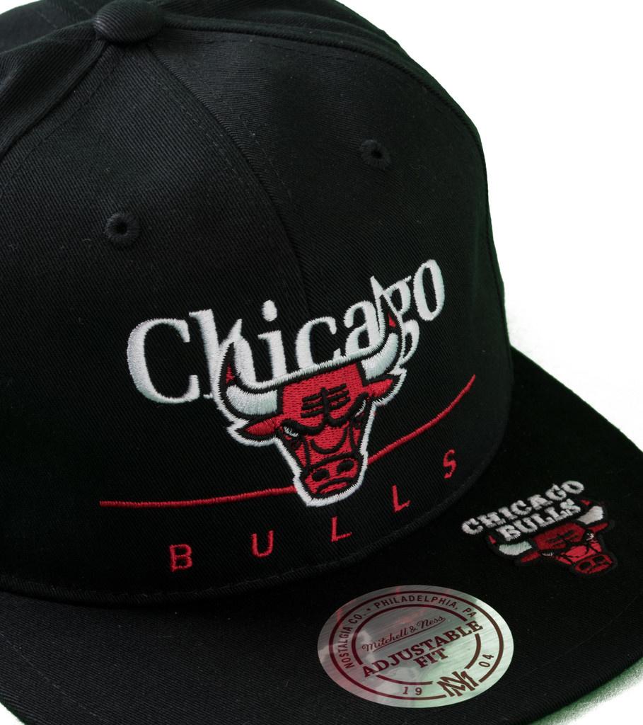 "Chicago Bulls Double Double Snapback ""Black""-3"