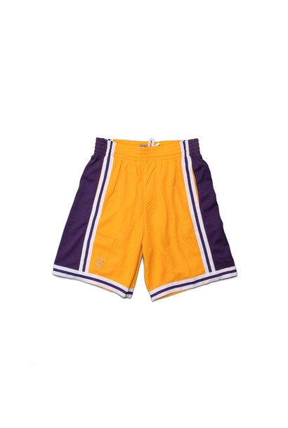"LA Lakers '96-'97 Swingman Shorts ""Yellow"""