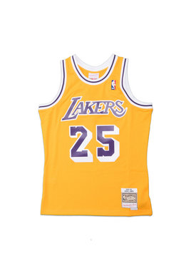 "Mitchell & Ness LA Lakers '95-'95 E. Jones Swingman Jersey ""Yellow"""