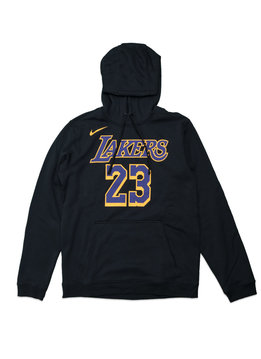 "Nike L. James City Edition '18 Hoodie ""Black/Purple"""