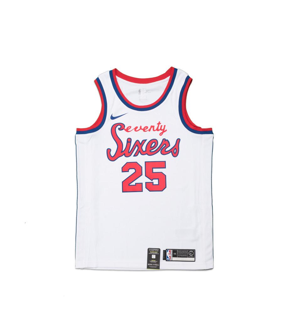 "B. Simmons Classic Edition '19 Swingman Jersey ""White""-1"
