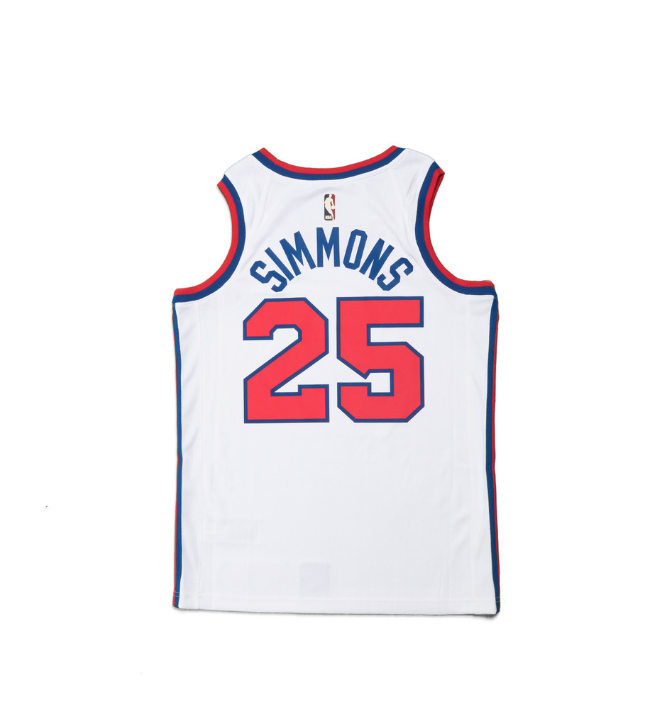 "B. Simmons Classic Edition '19 Swingman Jersey ""White""-2"