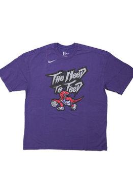 "Nike Toronto Raptors Classic Edition '19 Tee ""Court Purple"""
