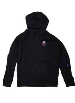 "Nike Toronto Raptors Classic Edition '19 Courtside Hoodie ""Black/Field Purple"""